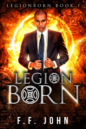 LegionBorn final ebook cover F F John
