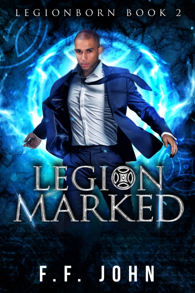 LegionMarked final ebook cover F F John